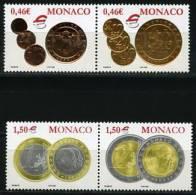 MONACO (2002). Monnaies De Monaco - EUR / Monaco Coins (1250) - Ungebraucht