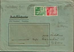 1950 DUSSELDORF X TORINO - DDR