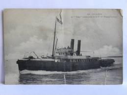 "CPA 76 LE HAVRE - Le ""TITAN"" Remorqueur De La Cie Gle Transatlantique - Remorqueurs"