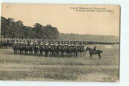 Grandes Manoeuvres Du Centre 1908 : Cuirassier Attendant L'ordre De Charger. 2 Scans. Edition ND - Manovre