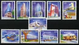 MACAU / MACAO (1999). Obras Y Edificios, Modern Buildings, Nouveaux Bâtiments (1255) - 1999-... Chinese Admnistrative Region