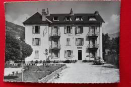 05 BRIANCON - HOTEL DU PARC SEMIOND FRERES MEME MAISON HOTEL DU COURS Peugeot 203  Francou édit - Briancon