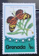 Briefmarke Grenada Schmetterling Butterfly Papillon - Schmetterlinge