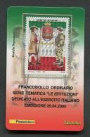 ITALIA TESSERA FILATELICA 2005 - ESERCITO ITALIANO - 053 - 6. 1946-.. Republik