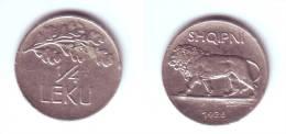 Albania 1/4 Lek 1926 - Albania