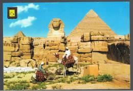 POSTAL - CARTE POSTALE -  PORTUGAL - EGIPTO Giza Piramides 15 - Gizeh