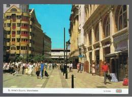POSTAL - CARTE POSTALE - INGLATERRA - Manchester St. Anne´s Square - Sin Clasificación