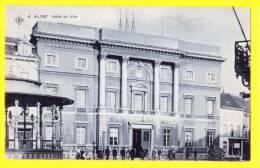 * Aalst - Alost (Oost Vlaanderen) * (SBP, Nr 4) Hotel De Ville, Town Hall, Stadhuis, Animée, Kiosque, Kiosk, TOP CPA - Aalst