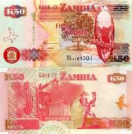 Zambie (2009) - 50 Kwacha  P 37 H  UNC - Zambia