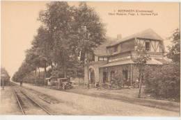 CPA BELGIQUE BERINGEN BEERINGEN Charbonnage Hôtel Moderne Maison DORMANS PYLS Auto Tacot Ligne Du Tram - Beringen
