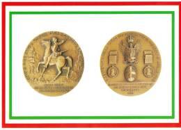 [DC1649]  CARTOLINEA - DI MEDAGLIA IN MEDAGLIA - BICENT. DELBRICHETTO DI MONDOVI´ - DRAGONE DI SUA MAESTA´ - Monnaies (représentations)