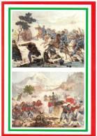 [DC1643]  CARTOLINEA - 150° UNITA´ D´ITALIA - LA BATTAGLIA DI BAGOLINO (BS) - LA PRESA DI LODRONE - Storia