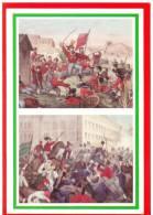 [DC1640]  CARTOLINEA - 150° UNITA´ D´ITALIA - I MILLE - 4 GIUGNO 1860 IL GENERALE LANZA CAPITOLA - Histoire