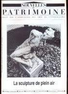 Nouvelles Du Patrimoine - La Sculpture De Plein Air. - Culture
