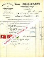Facture De 1924 - HERMALLE-SOUS-ARGENTEAU - Oscar PHILIPPART - Atelier De Modelage - Ohne Zuordnung