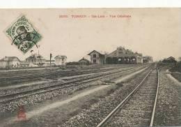 Tonkin 3033 Gia Lam Vue Generale Gare Interieur Train  Edit Dieulefils - Viêt-Nam