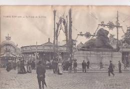 ¤¤  -  PARIS  -  Le Lion De La Fête   -  Manèges , Fête Foraine   -  ¤¤ - Arrondissement: 14