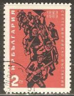 Bulgaria 1963 Mi# 1405  Used - 40th Anniv. Of The September Revolution - Usados