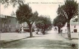 Privas Promenade Du Champs De Mars - Privas