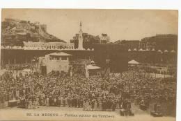 La Mecque Makkah Fideles Autour Du Tombeau  Pilgrimage Edit  Corm Beyrouth - Arabia Saudita