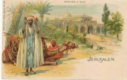 Jerusalem Pionniere Moschée D' Axa  Edit Kunzli Zurich No 1182 Muslim Praying - Palestine