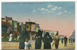 Beyrouth 448 Femmes Musulmanes En Promenade Edit Ferid Stamboul - Liban