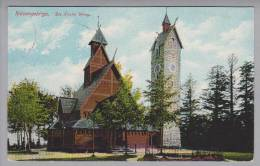 Polen Niederschlesien Brückenberg Kirche Wang 1914-07-05 Foto #4873 - Pologne