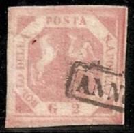 ITALIA 1858 (NÁPOLES) - Yvert #3 - VFU - Nápoles