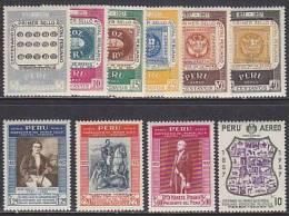 Peru 1957. 100 Jahre Briefmarken (B.0900) - Pérou