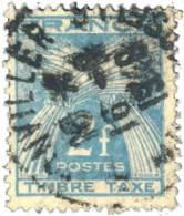 France Taxe 1946 ~ T 82 - 2 F. Gerbes - Taxes