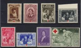 496 / 503 ** Postfris Neufs MNH - Belgique - Belgie 1939 - Rode Kruis - Croix Rouge - T7143g - Belgique
