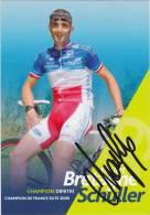 CHAMPION Dimitri (Champion De France, Signée) - Cycling