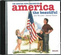 ARTHUR FIEDLER / JOHN WILLIAMS  * AMERICA THE BEAUTIFUL * WITH THE BOSTON POP ORCHESTRA - Instrumental