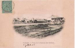CONAKRY VUES DE LA GARE ET DES ATELIERS - Guinée