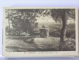 (77) - NEMOURS - LA TABLE D4ORIENTATION - Sin Clasificación