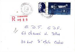 LRI 2234+A57 Etiquette Mécanique ST Servan/sur Mer St Malo Sur Mer - 1961-....