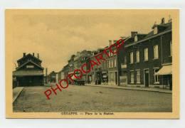 GENAPPE-Place De La STATION-GARE-1940-BELGIEN-BELGIQUE- - Genappe