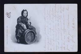 BIERE ALLEMANDE HB ENFANT CARTE TRES RARE DE 1898 - Commerce