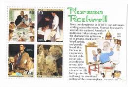 USA 1994 Bl 35 Norman Rockwell MNH ** - Etats-Unis