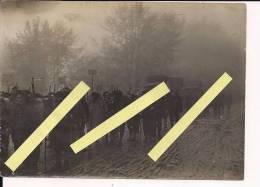 Vosges Alsace Les Alpins Au Collet Dans Le Brouillard Mai  1915  Poilus 1914-1918 14-18 Ww1 WWI 1.wk - War, Military