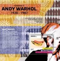 gu12318b Guinea 2012 Andy Warhol s/s Printmaking painting Banana Coca Cola