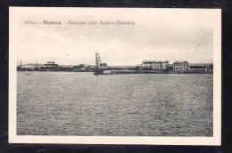 AFR2-48 ERITREA MASSAUA PANORAMA DELLE SALINE GHIAEEIAIE - Erythrée