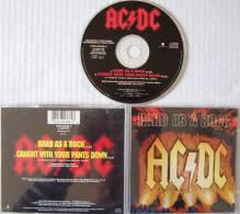 AC/DC MAXI CD 2 Titres Hard As A Rock Très Bon état - Hard Rock & Metal