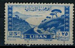 1947 - LIBANO - LEBANON - Scott Nr.  C123 - Mi 365 - Used - (S02052013.....) - Libano