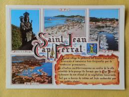 Dep 06 , Cpm  ST JEAN CAP FERRAT , Multivues , Souvenir , 7/260 (69) - Saint-Jean-Cap-Ferrat