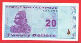 ZIMBABWE - 20  Dolar  2009 SC  P-95 - Zimbabwe