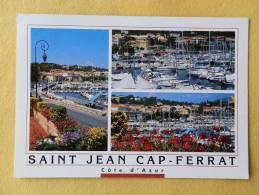 Dep 06 , Cpm  ST JEAN CAP FERRAT  , Multivues , Photos Carlicchi (121) - Saint-Jean-Cap-Ferrat