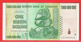 ZIMBABWE -  1.000.000.000 Dolar 2008 SC-  P-83 - Zimbabwe