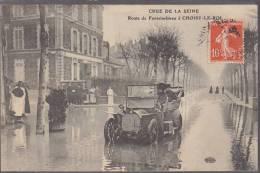 94 CHOISY LE ROI  INONDATIONS  VIEILLE VOITURE    /////   REF MAI 91 - Choisy Le Roi