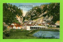 25 LE COL DES ROCHES FRONTIERE  FRANCO-SUISSE N ° 112 Locle La Chaux De Fonds - NE Neuchatel